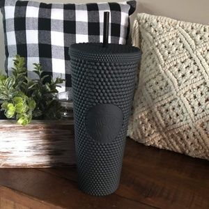 Starbucks Matte Black Spike Tumbler NEW